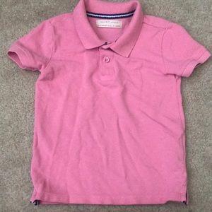 Zara Shirts & Tops - Zara pink polo for boys